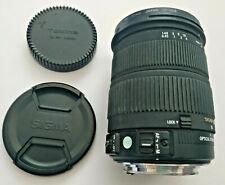 Sigma Zoom 18-200mm 1:3. 5-6.3 DC OS montaje de la lente de Canon