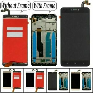 For     Redmi Note 4X LCD Display Glass Touch Screen Digitizer + Frame Kits