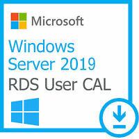 License Windows Server 2019 RDS 50 USER / DEVICE Remote Desktop Service CALs