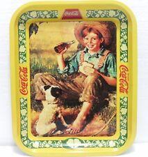 Coca-Cola - BAREFOOT BOY - anno 1990-VASSOIO Industria italiana Coca-cola