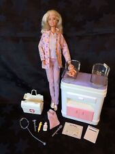 Barbie Happy Family Families Dr Doll With Playset And Female Baby