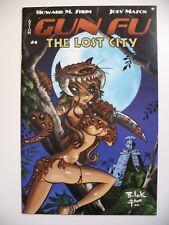 Gun Fu The Lost City #4 Alternate Cover Axiom Comic 2004