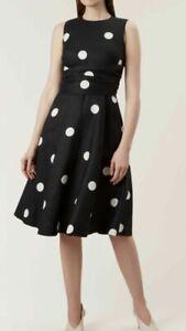 BNWT Size 14 HOBBS Twitchill Linen Dress