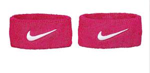 Nike Bicep Bands 2 per pk OSFM Breast Cancer Awareness BCA PINK Swoosh NIP F207