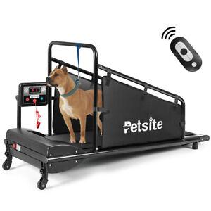Petsite Pet Treadmill Indoor Exercise For Dogs Pet Exercise Equipment W/ Remote