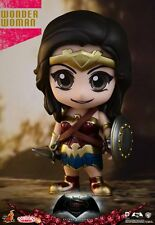 Wonder Woman-Batman Vs Superman Cosbaby Hot Toys Mini Figura Uk Nave En Stock