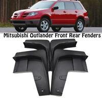 *Mud Flaps Mudguards Fender Flaps Mud Splash Guards For Mitsubishi Outlander 03+