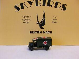 Skybirds Models. Austin K2  Ambulance.