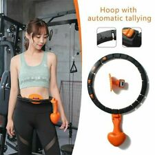 UK Smart Hula Hoop Lose Weight Exercise Detachable Portable Sports Circle Best