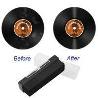 Velvet Vinyl Record Cleaning Cleaner Anti Static Velvet Brush