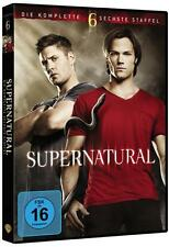 SUPERNATURAL Season Staffel 6 komplett 6 DVD Box  Neu  OVP + gratis Geschenkbox