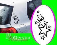 Stern Sterne Auto Styling Style tuning  Aufkleber Sticker JDM fun Stars Star