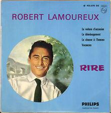 """ROBERT LAMOUREUX """"LA VOITURE D' OCCASION"""" 60'S EP PHILIPS 432.070"""