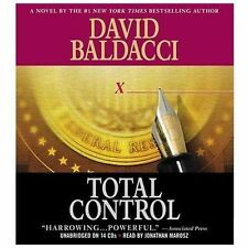 David Baldacci TOTAL CONTROL Unabridged CD *NEW* FAST Ship in a BOX !