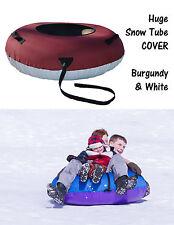ClearCreekTubes Snow Tube Sled Sledding Cover Snow Tubing Huge Inner Tubes