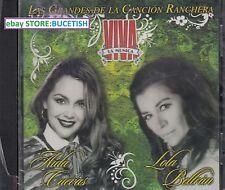 Aida Cuevas y Lola Beltran Las Grandes de La Cancion Ranchera CD New Nuevo