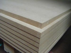 STANDARD MDF SHEETS IN VARIOUS SIZES AND THICKNESSES