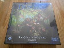 juego de mesa - La Ciénaga del Troll - expansión DESCENT 2ª ed. - EDGE 2013
