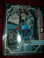 MONSTER HIGH THREADARELLA frankie stein
