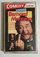 BERNARD MANNING UNGAGGED Audio Cassette Blue Adult Comedy Embassy Club