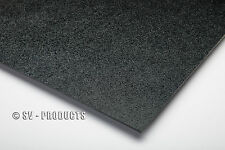 """ABS Plastic Sheet Black Vacuum Forming 1/8"""" Thick 6"""" x 12"""" - 251a"""