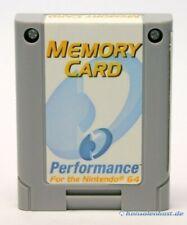 N64-Memory Card/tarjeta/tarjeta de memoria/Controller Pak [performance]