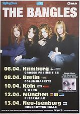THE BANGLES 2003 GERMAN CONCERT TOUR POSTER