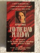 And the Band Played On (Prev. Viewed VHS, 1994, Closed Captioned, LN) HBO Video