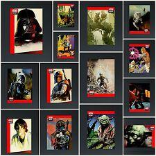 STAR WARS CARD TRADER  - GALAXY SELECTS: REDUX SET - 14 CARDS - NO AWARD