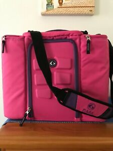 6 Pack Fitness 5-meal cooler bag as new