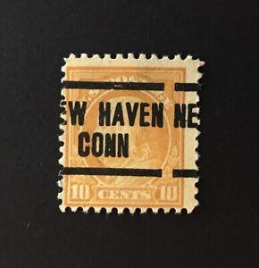 New Haven, CT Precancel - 10 cents Franklin (U.S. #510) CT - EFO-IMAGE SHIFT