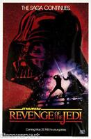 Star Wars Revenge of The Jedi Multi-Size Film Canvas Wall Art Movie Poster Print