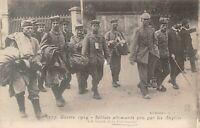 Guerre 1914 Soldats Allemand pris par les Anglais