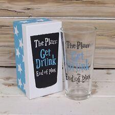 Il lato Brillante Pinta in vetro-il piano: ubriacarsi, fine del piano
