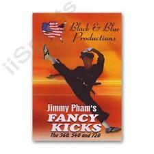 Fancy Tournament Demo Spinning Kicks Jimmy Pham Dvd 360 540 720 flying karate