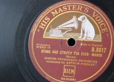78rpm STARS & STRIPES FOR EVER / WASHINGTON POST MARCH boston proms / fiedler