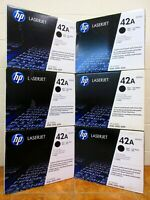 NEW HP 42A Q5942A OEM Genuine Black Laserjet Toner Print Cartridge Sealed