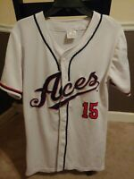 2018 Reno Aces Vladimir Frias #15 Embroidered White Jersey Medium