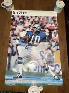 1979 Jim Zorn Seattle Seahawk Poster SI Sports Illustrated Photo Focus On Sport
