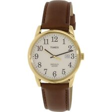 Timex Womens Easy Reader TW2P75800 Brown Leather Quartz Fashion Watch