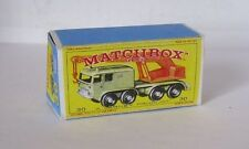 Repro Box Matchbox 1:75 Nr.30 8-Wheel Crane