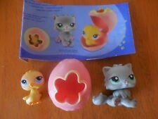 Littlest Pet Shop Pet Pair Kitten #86 Chick #82 RARE