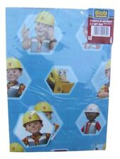 Bob the Builder wrapping paper (gift wrap) & hexagonal tags