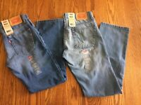 LEVIS Boys 511 Slim Fit Stretch Blue JEANS (2 Washes) Szs 10 12 14 16 18  NWT