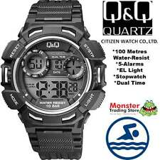 AUSSIE SELLER GENTS DIGITAL WATCH CITIZEN MADE M148J004 100M RP$99.95 WARRANTY