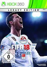 FIFA 18 - Legacy Edition (Microsoft Xbox 360, 2017)