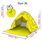 USA Pop Up Beach Tent Portable Sun Shade Shelter Outdoor Camping Fishing Canopy