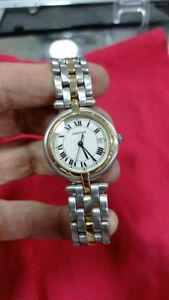 cartier panthere watch gold