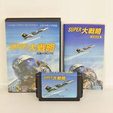 SUPER DAISENRYAKU Mega Drive Sega md