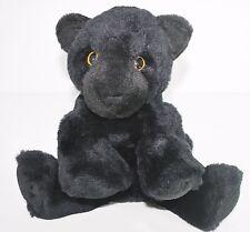 Animal Alley Plush Stuffed Black Panther Cub Jaguar Kitty Cat Jungle Toy Beans